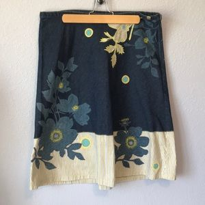 Ted Baker size 14 denim skirt